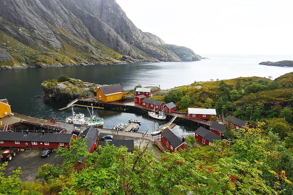 Nusfjord, Lofoten, Norwegen