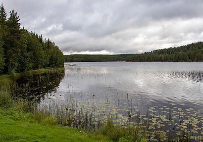 Rastplatz am Almasjön