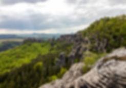 Schrammsteinaussich - Nationalpark Sächsische Schweiz