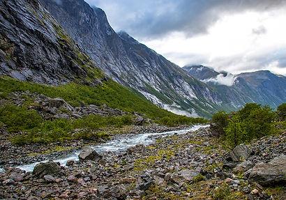auf dem Weg zum Trollstigen