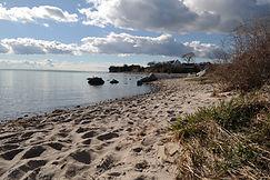 Strand bei Thiessow, Mönchgut, Rügen