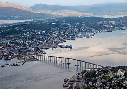 Ausblick vomFjellheisen - Tromsø