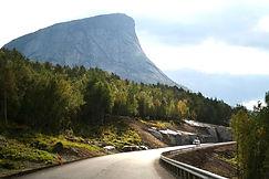 Landschaft Norwegens entlang E6