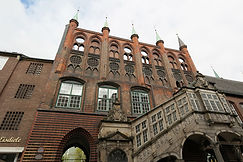 Rathaustreppe Lübeck