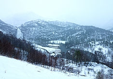 auf dem Weg zum Hardangerfjord