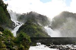 Latefossen Norwegen