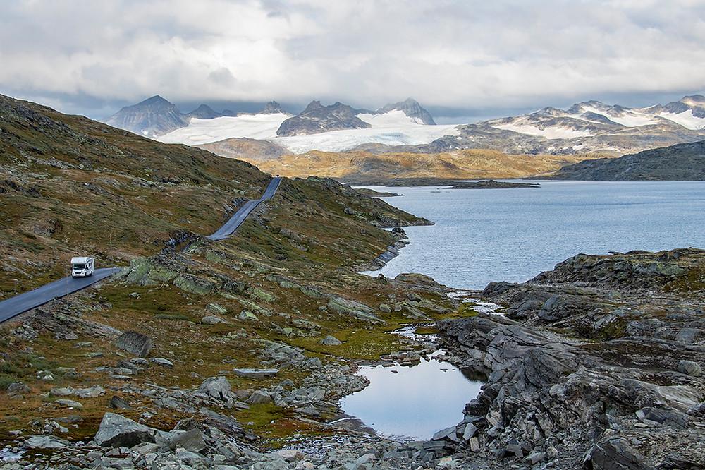 Sognjefjellsvegen - Norwegen mit dem Wohnmobil