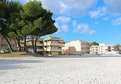 unsere Unterkunft - Strand Port d'Alcuida