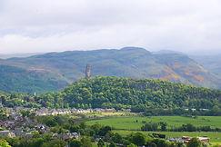 Blick auf das Wallace Monument