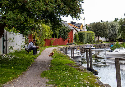 Fluss-Promenade Trosa