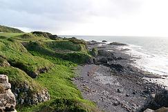 Küste Dunure Castle