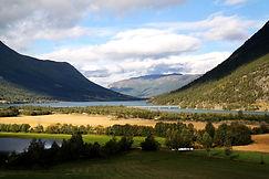 Landschaft bei Lom