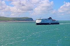 DFDS Fähre, Calais Dover