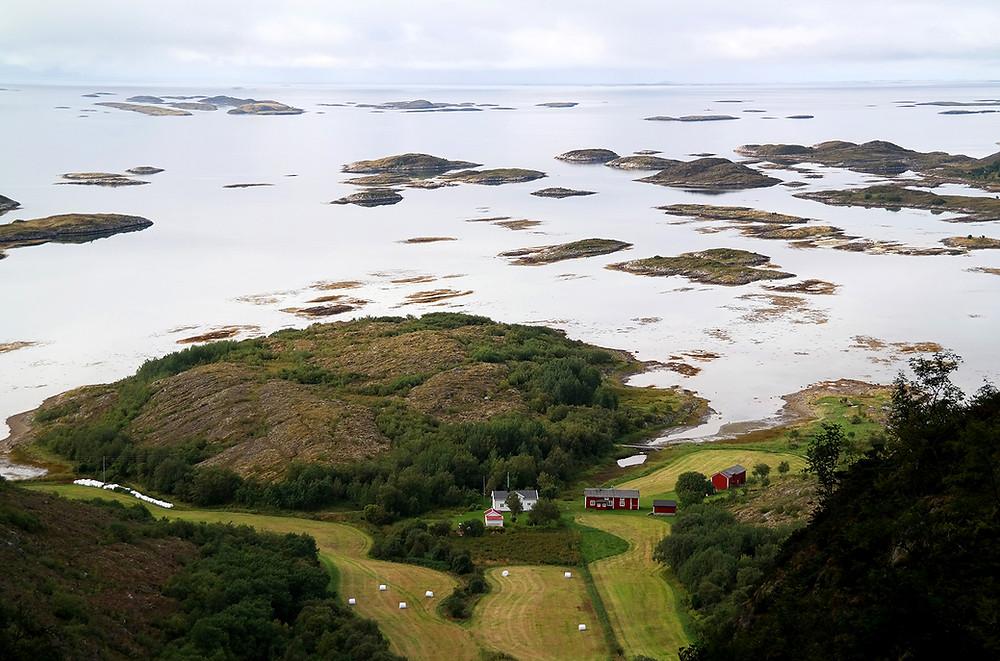 Troghatten, Berg mit Loch, Bronnoysund
