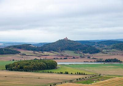Blick von der Burg Gleichen