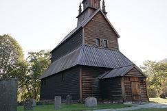 Stabkirche in Urnes, Norwegen