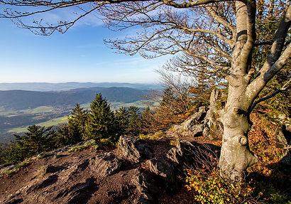 Ausblick vom Kleinen Riedelstein