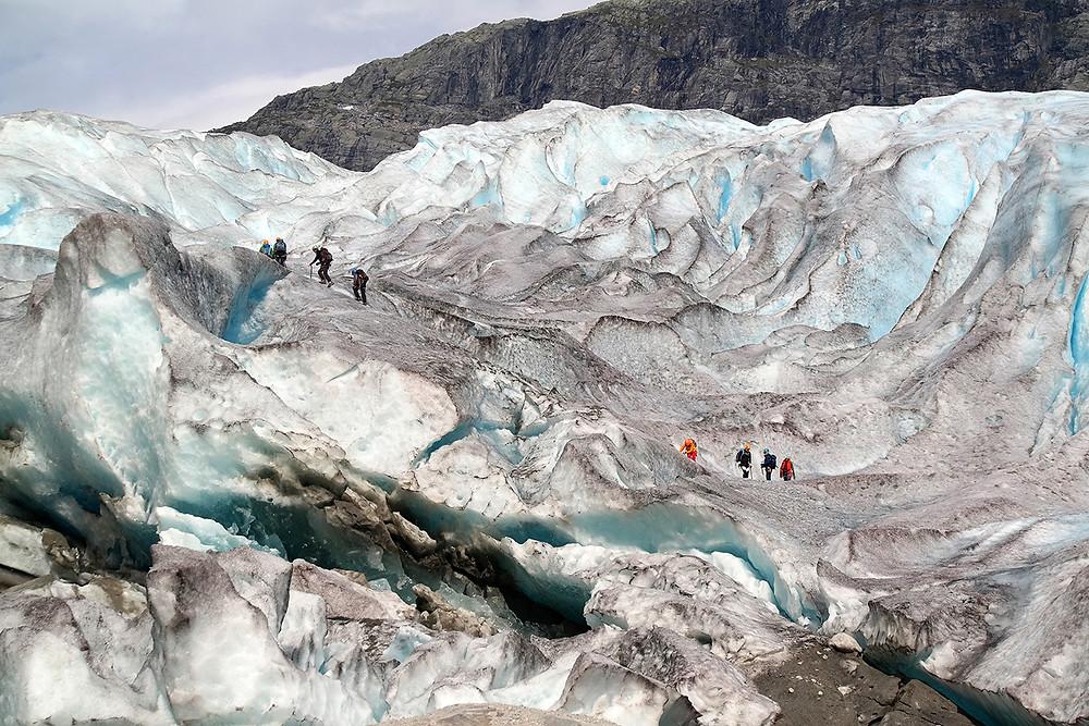 Gletscher Nigardsbreen