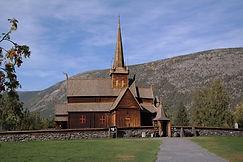 Stabkirche Lom, Norwegen