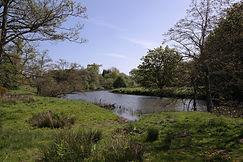 Wanderweg beim Alnwick Castle