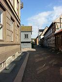 Häuserreihen Volksmuseum Oslo