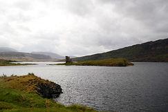 Loch Assynt und Ardvreck Castle