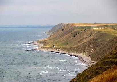 Küste beim Ales Stenar