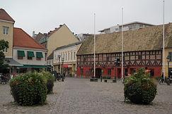 Platz in Malmö, Schweden