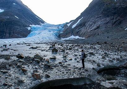 Wanderung Steindalsbreen