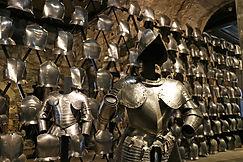 Rüstungen im Tower of London