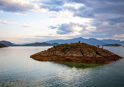 auf dem Rückweg von Sommarøy