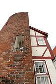 Halbturm, an der Mauer, Lübeck
