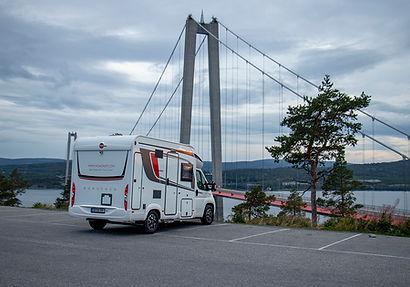 Parkplatz Högakusten Bron