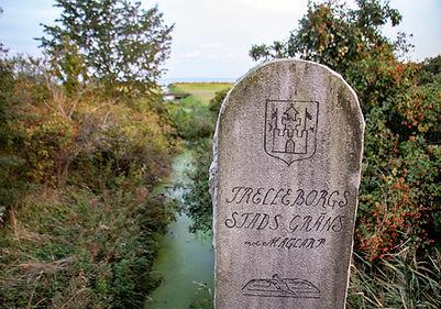 Stadtgrenze Trelleborg
