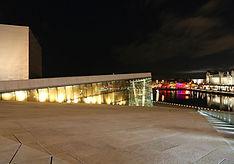 Opernhaus bei Nacht