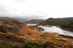 Landschaft bei Kylestrome, Schottland