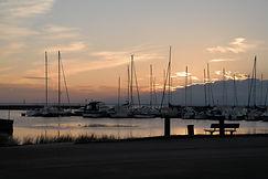 Hafen Borgholm Öland, Schweden