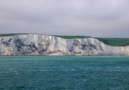 Abfahrt in Dover