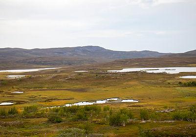 auf dem Rückweg vom Nordkap