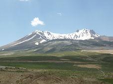 Vulkan Erciyes Dagi, Türkei