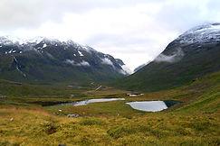 Landschaft entlang Rv63