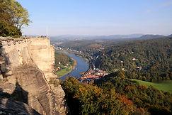 Elbe Festung Königstein