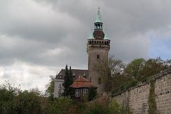 Beim Schlosshotel Quedlinburg