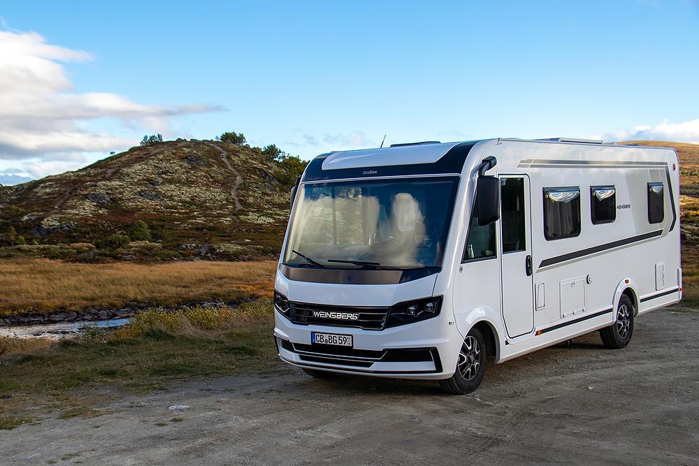 Weinsberg Wohnmobil Norwegen