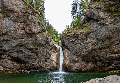 Wanderung Buchenegger Wasserfälle