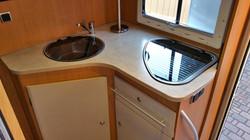 L-Küche im Challenger Genesis 55