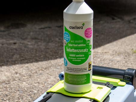 aktualisiert: Test awiwa umweltfreundlicher Zusatz für die Campingtoilette