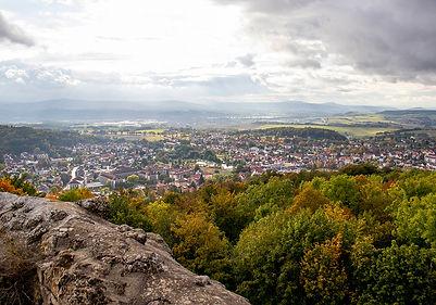 Blick von Burg Liebenstein