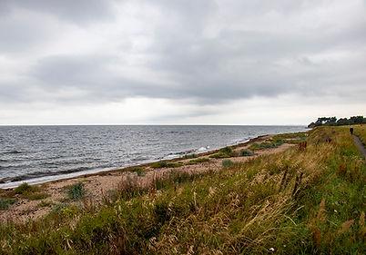 Blick auf die Ostsee beim Stellplatz