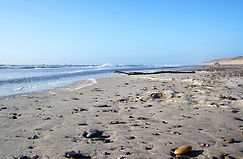 Strand von Hvide Sande - Wohnmobilreise Nordsee/Dänemark